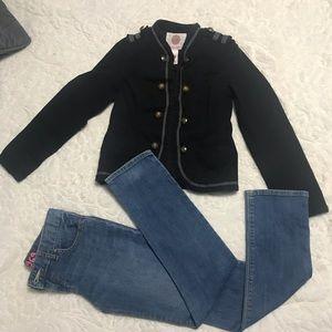 Other - Girls outfit blazer & skinny jean 7/8